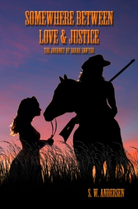 """""""Somewhere Between Love and Justice"""" cover art by Cindy Bamford"""